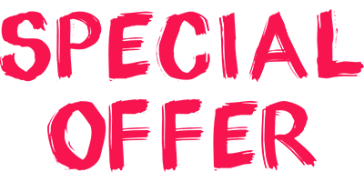 Special offer for spring