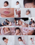 Natural Lifestyle Home Newborn Photography Session