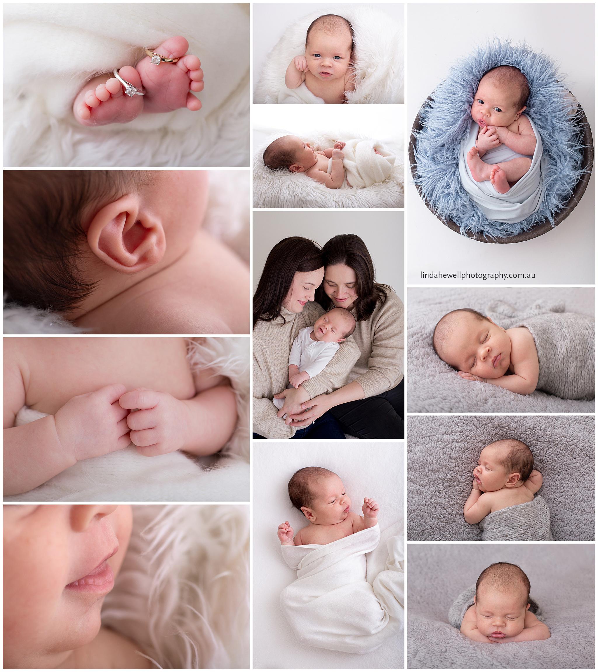 studio newborn Perth baby studio