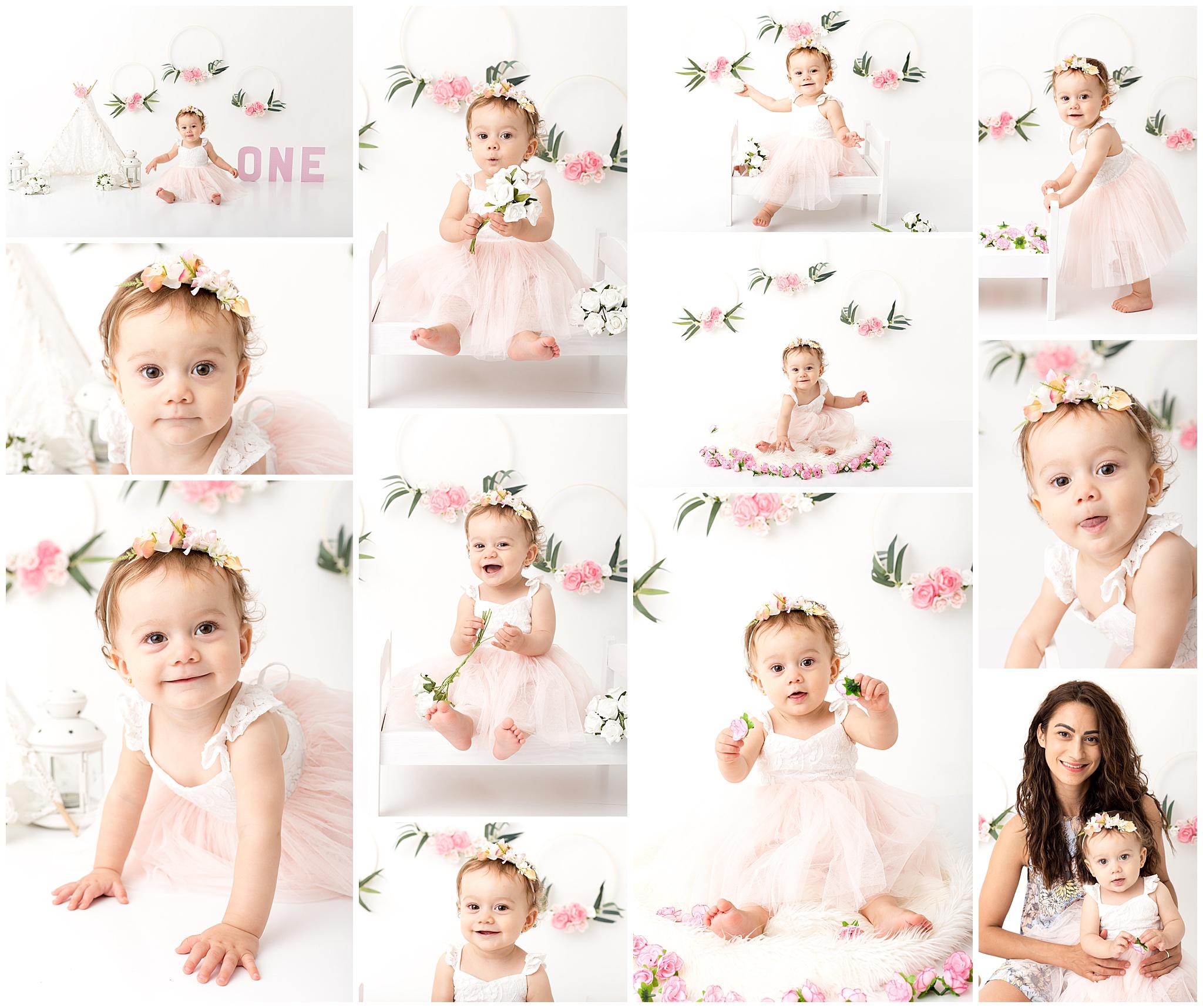 Perth baby studio photography 1st birthday